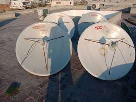 Brand New dish antenna connection Pakistani channels free