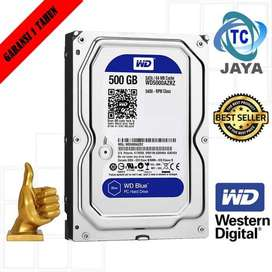 Harddisk internal pc 500GB WD BLUE Garansi 1THN