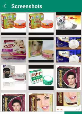orignal Whitening and beauty creams at Rs200 each