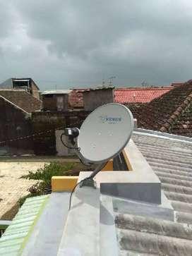 Antena parabola mini Nexparabola bebas iuran Siaran TV anti semut