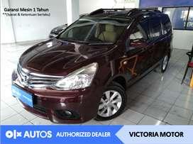 [OLX Autos] Nissan Grand Livina 2013 1.5 XV AT Automatic Bensin Marun
