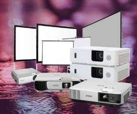 Jasa Sewa Proyektor dan Rental Layar Screen Ready 24 Jam