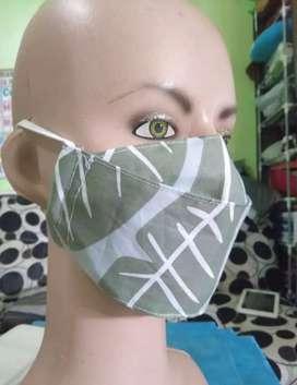 Terima Tempahan Masker 2 Ply Kain - Harga Terjangkau