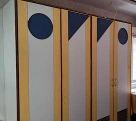 Wardrobe doors 3 years old