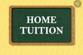 I am home tutor for class Nursery to 5th