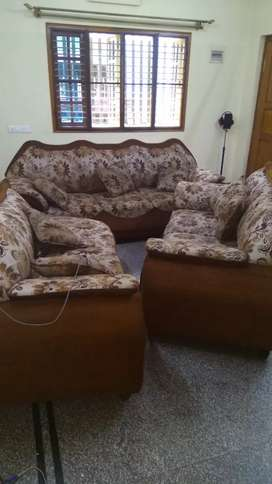 Moving out sale ..seven seater sofa