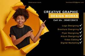 For Graphic design works