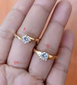 Cincin couple xp lapis emas