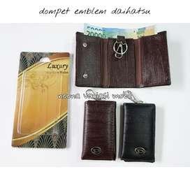 dompet stnk gantungan kunci logo emblem daihatsu