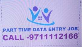 HOME BASED DATA ENTRY JOB PART TIME WORK APPLY NOW