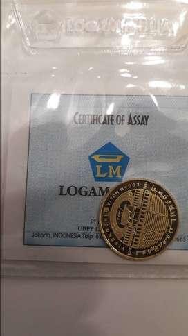 Koin 1 Dinar ANTAM (Harga Pas)