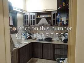 2 bed drawing dining leased flat at nazimabad 3