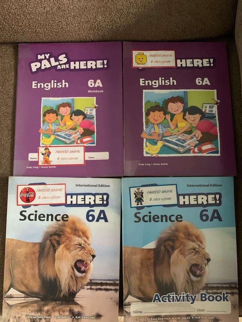>> FOR SALE << Buku Sekolah Lazuardi My Pals Are Here : kelas 1 - 6 SD 0