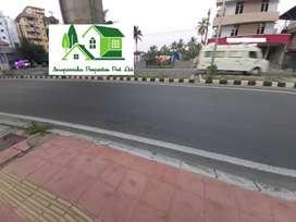 Metro facing land at Palarivattom , Kochi