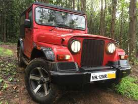 Mahindra Thar 4x4 Crde AC Pune registered No off-road usage