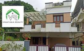 1950sqft 4bhk house on 4 cent at Eroor, 150mtr from main road, ₹ 90L