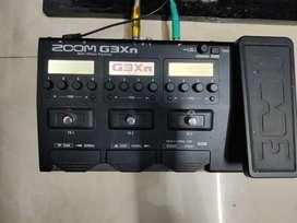 ZOOM G3Xn GUITAR PROCESSOR *USED*