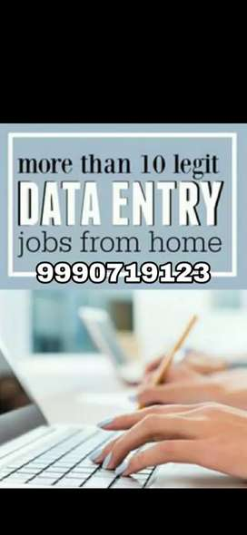 Only 15 vacancies left for offline data entry job Hurry up..
