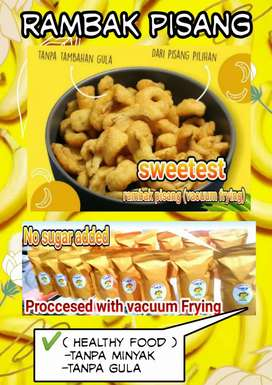 rambak pisang. sweetest 120gr