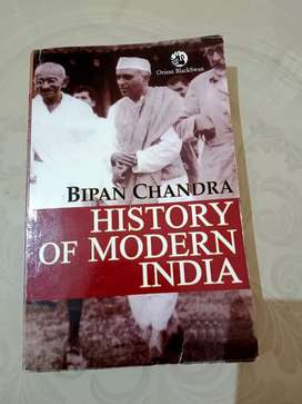 Book for PSC UPSC  modern history