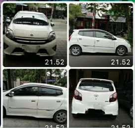 Mobil Agya 2014 TRD, mulus,1 tangan,jual cepat
