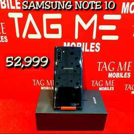 TAG ME SAMSUNG NOTE 10 SEALED CUT