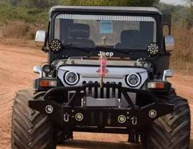 Willy  angry black modified jeep
