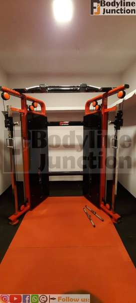 Get full gym machine setup in heavy duty and new design look