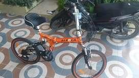 """Dijual sepeda lipat merek Aleoca 20"""""""
