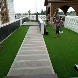 karpet rumput sintetis taman dan lantai futsal