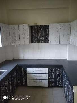 Owner free 3 BHK flat for rent in Rail Vihar on VIP Road Zirakpur.