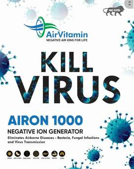 Air purifier AirVitamin by  Clean  AIRON 1000  NEGATIVE ION GENERATOR