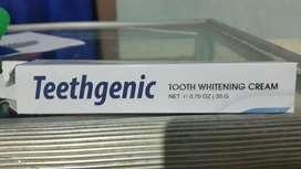 Teethgenic Whitening Cream BPOM - Cream Pemutih Gigi
