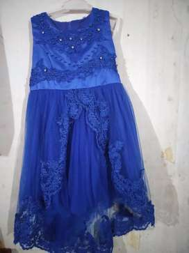 Dress anak impor size 4-5 y