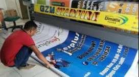 Spanduk/Banner/Stiker Murah Bandung (Dikirim/COD)