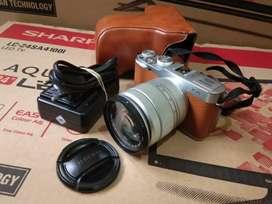 Kamera Fujifilm X-A2 16-55mm mulus Hrga 2,6jt fullset