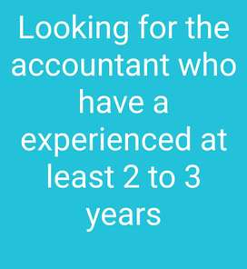 Looking for the accountant