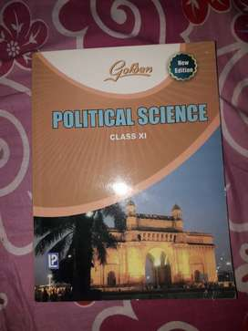 Golden Political Science Class 11 Guide Book