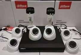 PAKET CCTV Dahua Original Resmi Komplit . Gratis Pemasangan