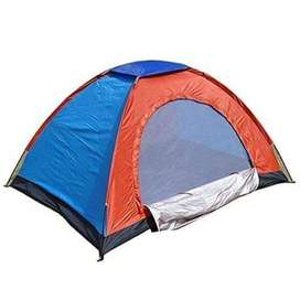 Camping Tent who can without problems go to sleep in the tent. Take