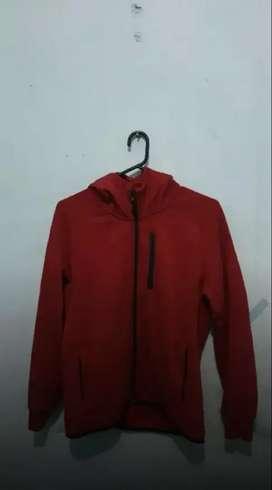Jaket Uniqlo sweat hoodie zip dry original