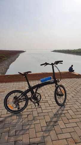 Sepeda Lipat Element Ecosmo 10; Filosofi Kopi
