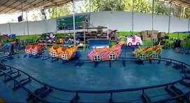 siap kirim odong mini coaster kereta rel lantai diskon 01 promo