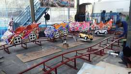 mini coaster naik turun odong odong dobel jok full set dp rendah