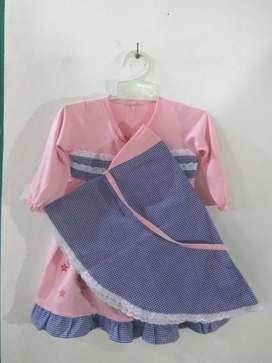Baju bayi bahan kaos katun lembut