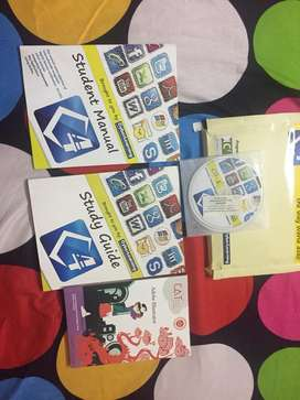 Cat cyber learning brand new books with cd for sale
