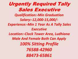 Urgent need female telecaller