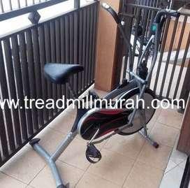 alat fitnes sepeda statis static platinum bike silver