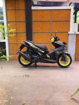 Yamaha Aerox 155 th 2019 oke punya