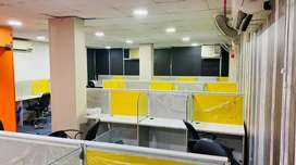 30 seats fully furnished office space in west delhi